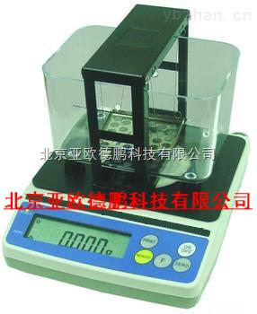 DP-120E-多功能固體視密度測試儀/粉末冶金比重天平,電子密度計