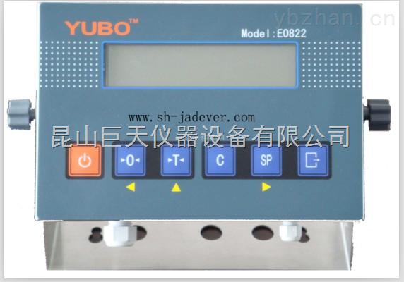 E0822-太倉E0822稱重儀表,E0822電子地磅稱重顯示儀表接線方法