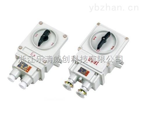 BGV2防爆电动机保护开关直销