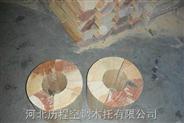 厂家直销杨木防震动管道垫木安装效果