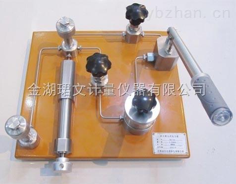 1006台式水压压力泵