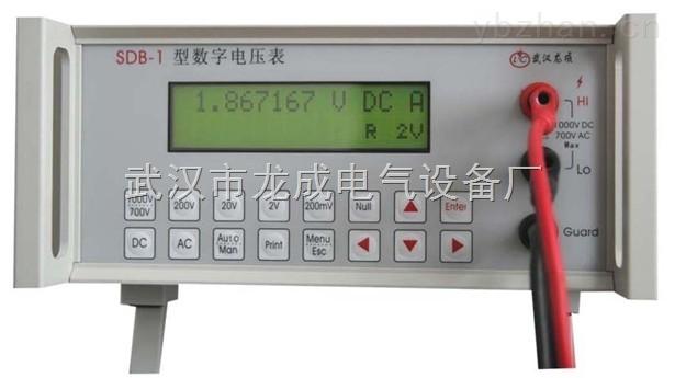 SDB-1-SDB-1型數字電壓表