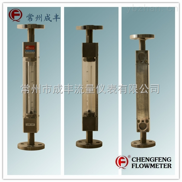 LZB-10F-【常州成丰】防腐型玻璃转子流量计 法兰连接 垂直安装 专业厂家选型 耐腐强