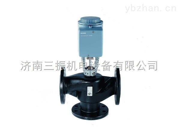 西門子電動三通調節閥VXF40
