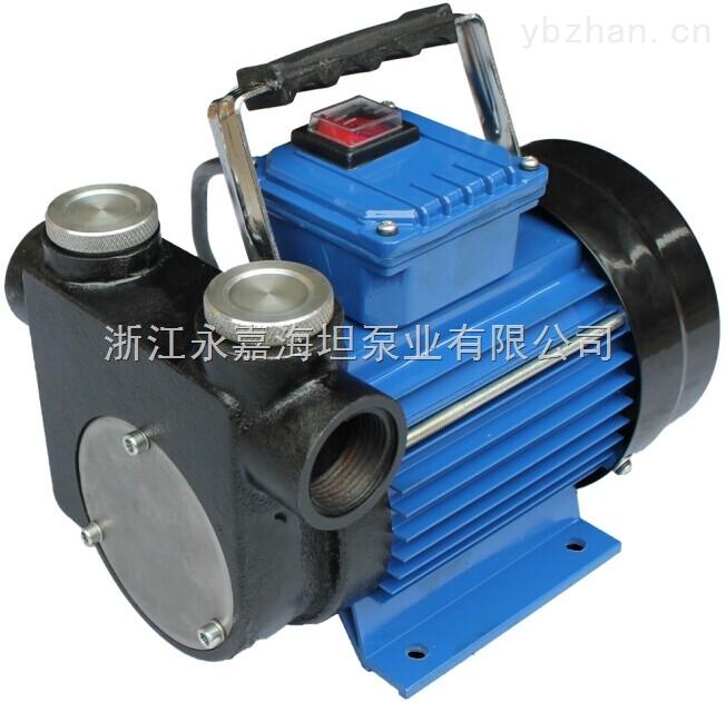 DYB-90型-油泵 DYB-90型便攜式自吸電動油泵