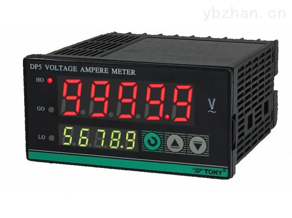 DP5-TOKY东崎仪表 DP5系列多功能电压电流表 5位显示高分辨率 高精度