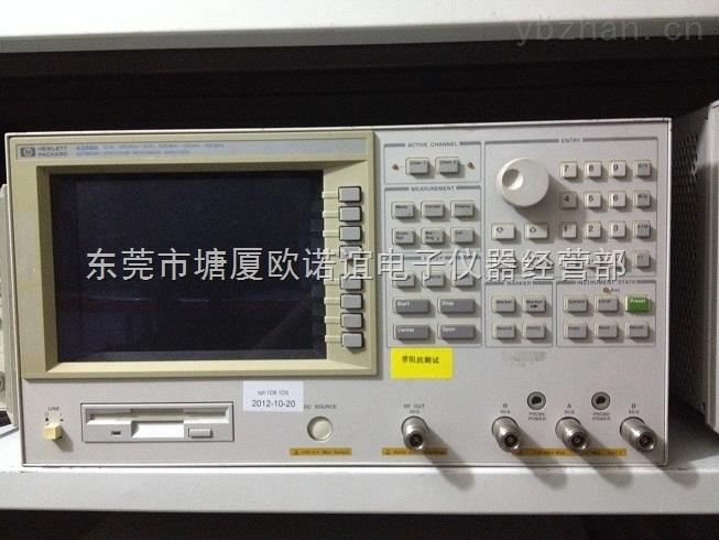 Agilent4396B网络/阻抗/频谱仪