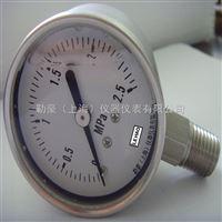 不锈钢径向耐震压力表
