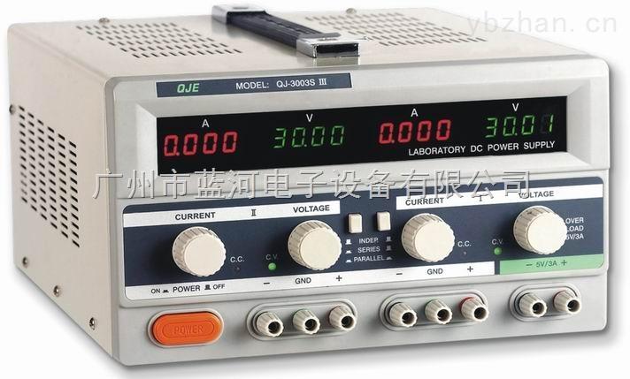 qj3005siii双路直流电源/30v/5a稳压电源