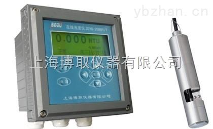 北京河南在线污泥浓度计0-50000mg/L  4-20mA输出 带自清洗