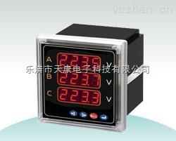 XK194U-3K4-XK194U-3K4三相電壓表