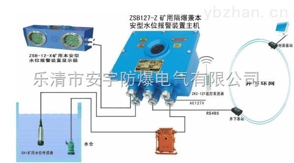 zsb127 zsb127(zsb127-z)矿用高低水位显示声光信号报警器,水仓水位