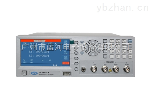 藍河專賣UC2756電感量測試機 電容機 特價銷售 UC2756電感測量儀 廣州藍河特約經銷