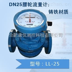 LL-A25腰轮流量計