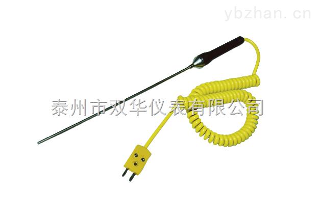 双华供应手持式铠装热电偶WRNK-187 温度传感器