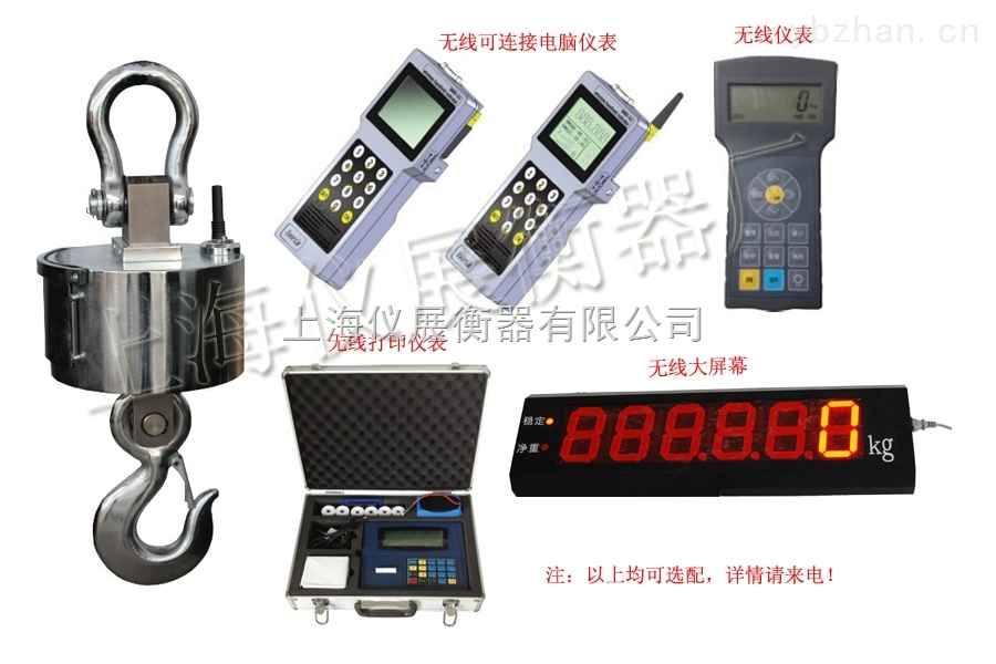 OCS-1噸電子吊秤,1T電子掛鉤稱品牌品質