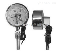 安徽天康WSSX-401直型可動外螺紋電接點雙金屬溫度計