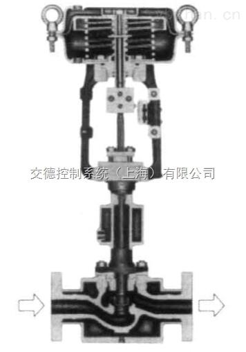 jdhtsj保温夹套单座气动调节阀阀芯采用上导向结构
