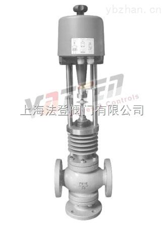 高端电动三通不锈钢调节阀 分流、合流 德国VATTEN品牌