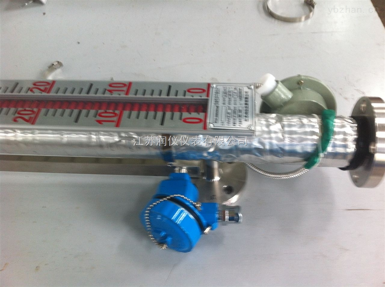 側裝電伴熱磁翻板液位計