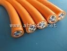 硅橡胶绝缘硅橡胶护套铜编织屏蔽电力电缆YGCP