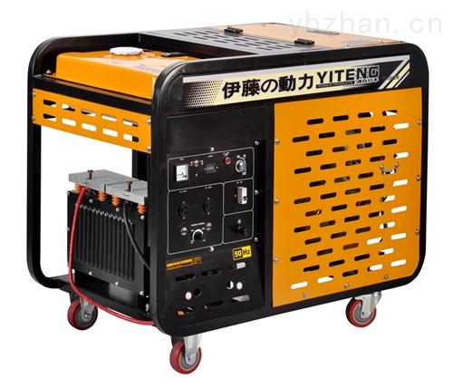 300A柴油发电机带电焊机