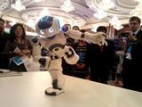 仿生機器人Nao來了 萌萌的還會打太極