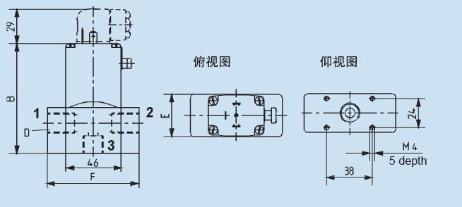 为高质量的直动式两位两通或两位三通转动衔铁电磁阀图片