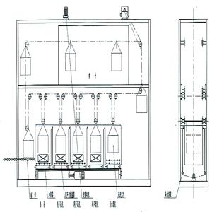 超声波清洗机平面图