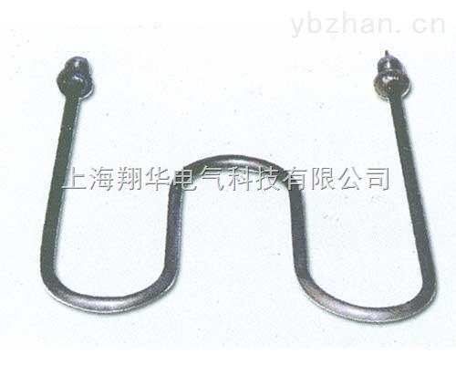 双头出线电热管 双u型蒸饭箱加热管 蒸饭机电热管 u型防水加热管 螺纹