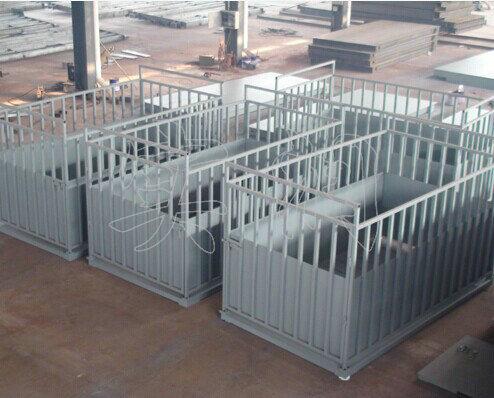猪场场钢结构厂房设计图