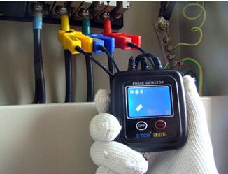 etcr1000a 非接触低压相序表