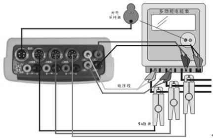 校验单相电能表接线方法