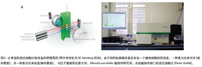 纯水服务于流式细胞技术进行植物生殖细胞学研究