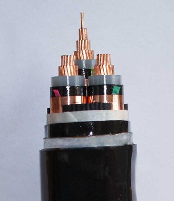 电缆芯线内发生破损,泄露出来的电流可以顺屏蔽层流如接地网,起到安全