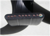 耐高温天然丁苯绝缘和护套扁平软电缆200℃